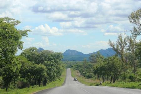Harare-Mutare road.
