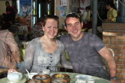 Dim Sum breakfast in Sai Kung.