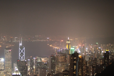 View from the Peak at night.