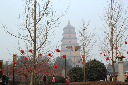 Big Wild Goose Pagoda.