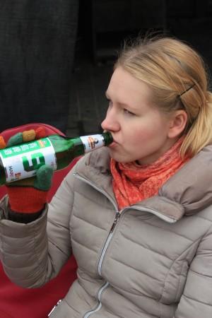 I don't like beer.