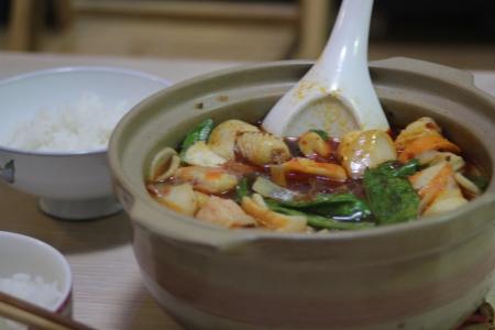 Sha guo soup.