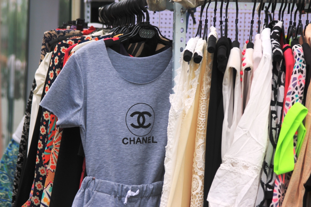 Fake Chanel is extremely popular.