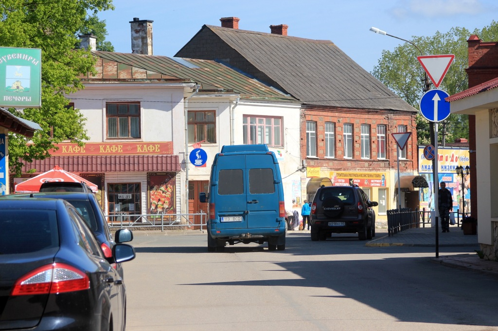 The town still has an Estonian school and a small Estonian-speaking minority. My grandma's family comes from around here.
